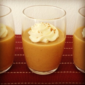 Eighth Day of Xmas: Pumpkin Panna Cotta