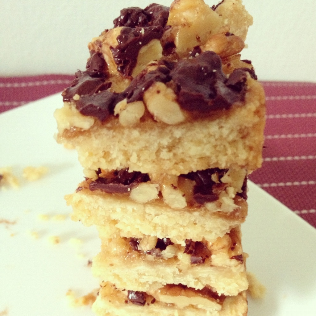 5th Day Of Christmas Turtle Cheesecake Bars Recipes — Dishmaps