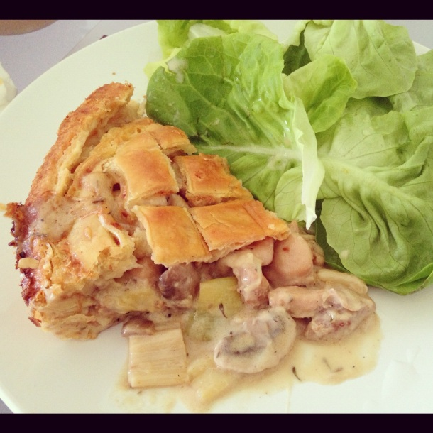 Day 3: Creamy Chicken Pie