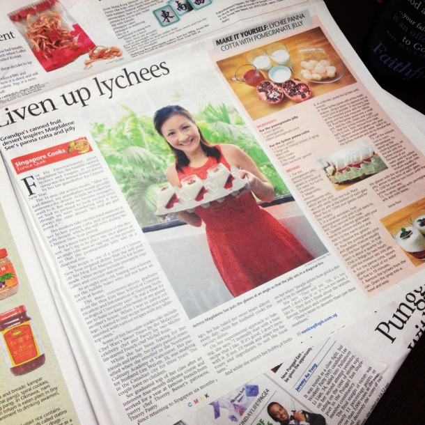 The Sunday Times (Jan 2013) - Liven Up Lychees