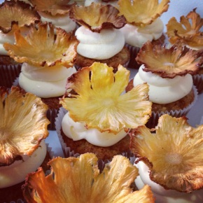 CNY-inspired recipe #2: Hummingbird Cupcakes