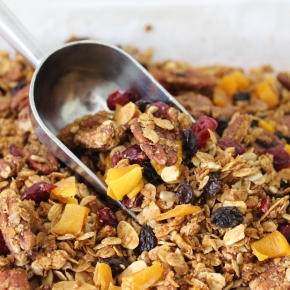 Homemade Fruit and Nut Granola