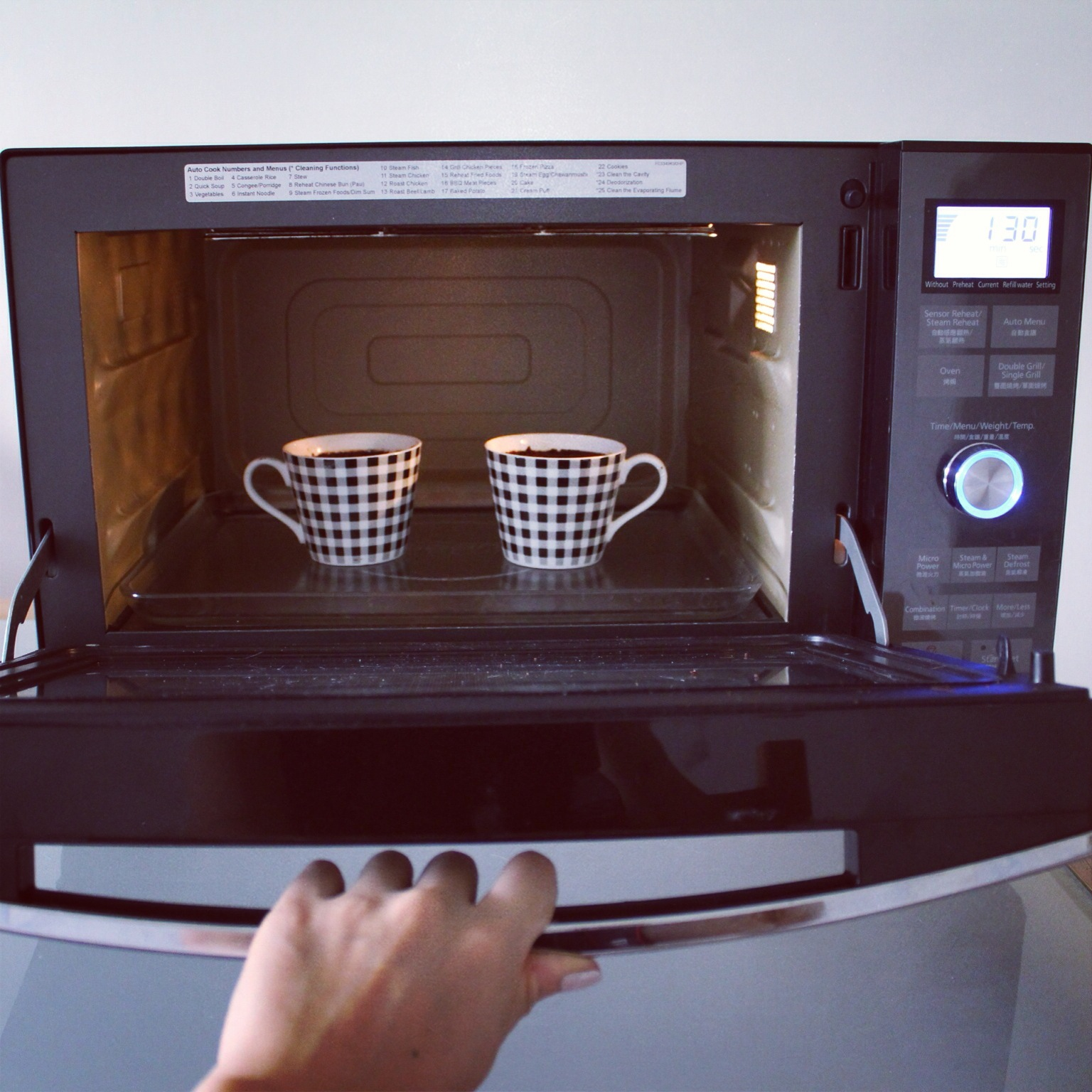 Cup cake recipe in microwave