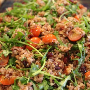 Quinoa Red Rice Salad