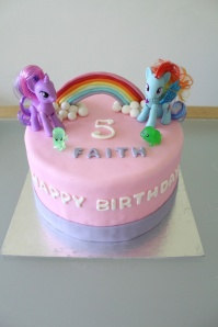 Custom-design 'My Little Pony' Cake