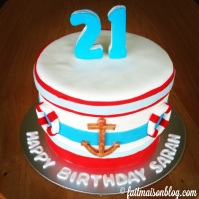 Custom-design 'Sailor' Cake