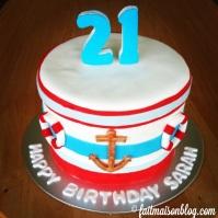 Custom-design 'Sailor' Cake