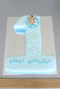 Custom-design 'Number 1' Cake