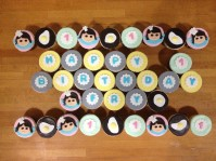 Custom-Design 'Fry Bistro' Cupcakes