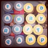 Custom-Design Alphabet Fondant Cupcake Toppers