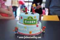 Custom-design 'Sesame Street' Cake