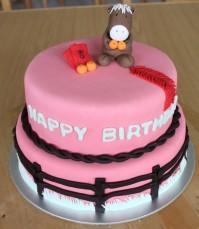 Custom-design 'Year of the Horse' Cake