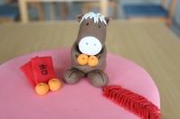 Handmade Fondant Horse