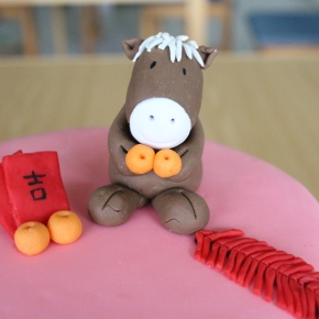 How to Make a Fondant Horse