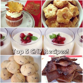 Top 5 CNY Recipes